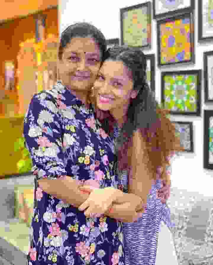 Ankita Lokhande Mother Vandana Phadnis Lokhande