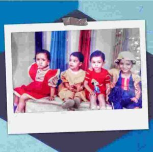Ankita lokhande childehood pic