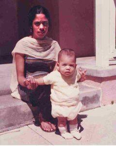 kamala harris mother