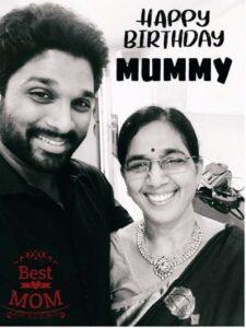 Allu Arjun mother