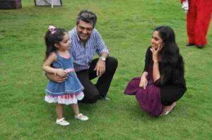 shalini Ajith Kumar family