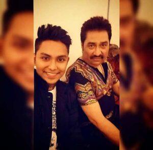 Jaan Kumar Shanu with his father
