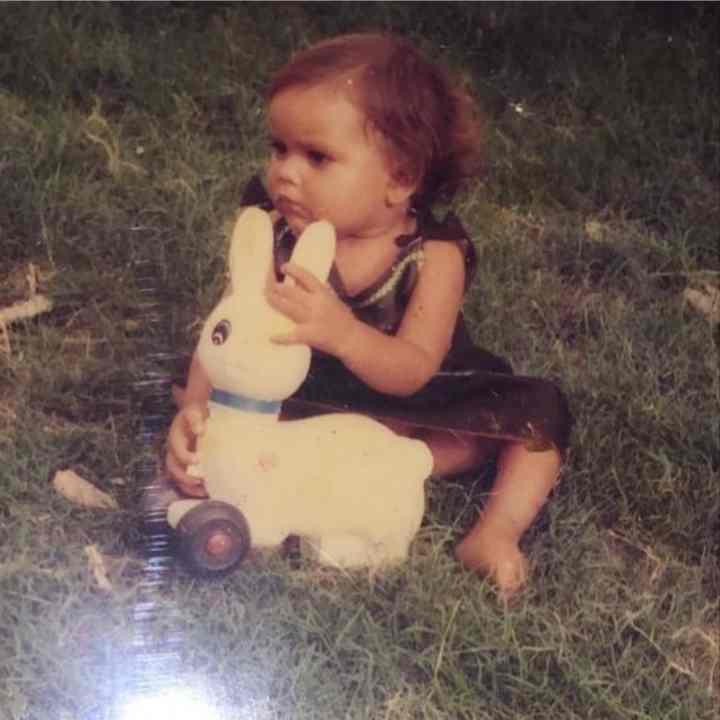 Sara Gurpal childhood pic