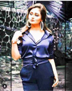Rashami Desai in modelling