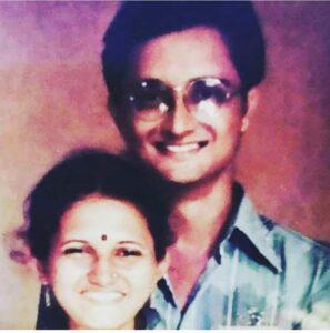 Rashami Desai with her father
