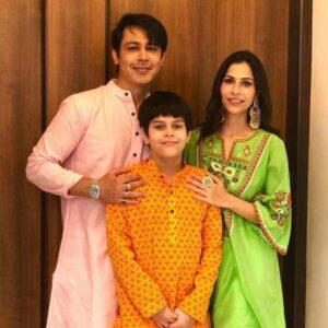 Sudeep Sahir family photos