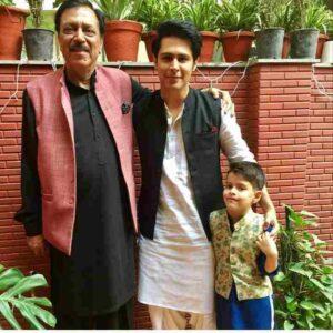 Sudeep Sahir father