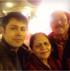 Sudeep Sahir mother