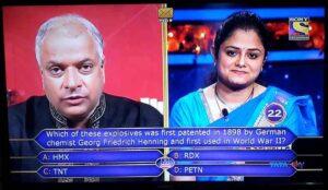 Mohita sharma uses ask the expert lifeline in kbc