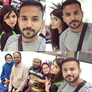 Shirin Kanchwala family