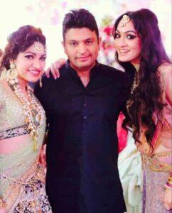 bhushan kumar with his sister