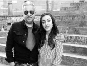 saher bambba with her father