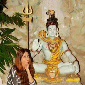 Aparna sharma with mahadeva