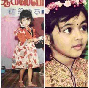 Athulya Ravi childhood image