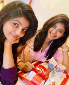 Athulya Ravi with her sister