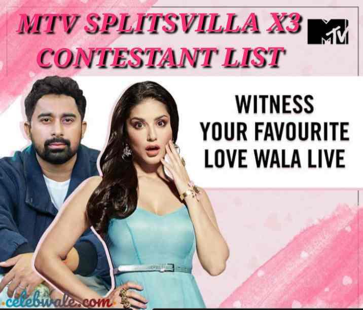 MTV Splitsvilla contestant List