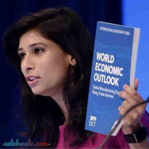 Gita Gopinath economist of handbook