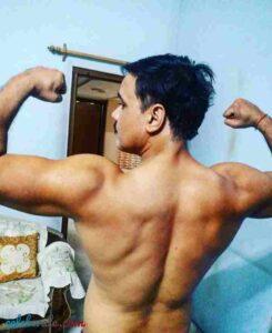 Yash Tonk in gym