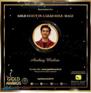 aashay mishra gold awards nomination