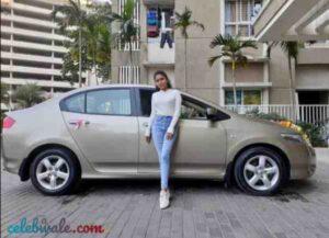 aishani yadav new car