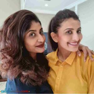 poonam sis with her sister
