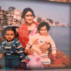 sukirti kandpal childhood pic