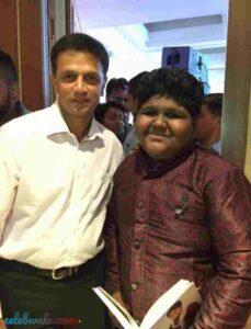 vaishnav girish favorite cricketer rahul dravid