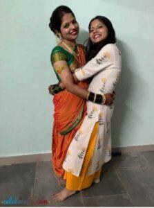 vijaya babar with her sister