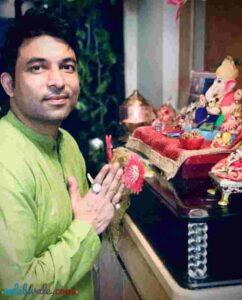 Chandan Prabhakar devotee of Lord Ganesha