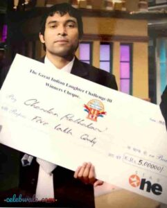 Chandan Prabhakar the great indian laughter challenge season 3