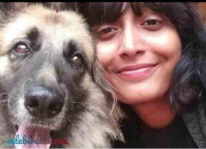 Disha Ravi an avid animal lover