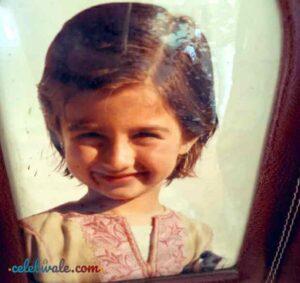 Mahima Kaul childhood pic