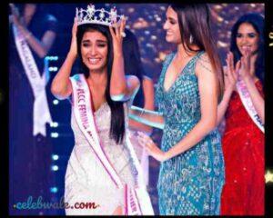 Manya Singh won the crowned of vlcc femina first runner up miss india uttar pradesh 2020