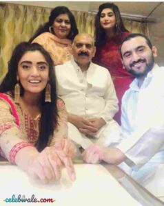 Shireen Mirza with her family