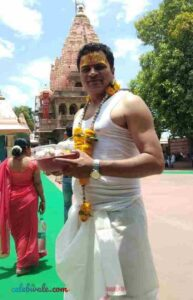 Vikas Sharma worshiper of lord shiva