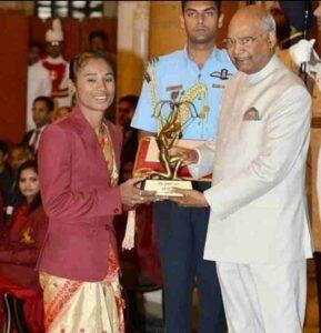 hima das receive Arjuna Award