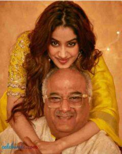 janhvi kapoor with her father boney kapoor