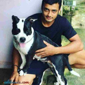 Aravind KP dog lover