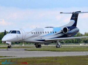Gautam Adani jet Embraer Legacy 650 chartered aeroplane