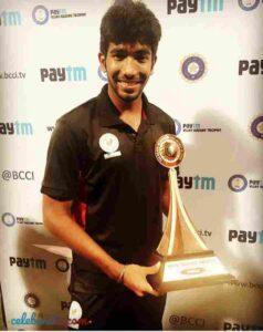 Jasprit Bumrah award