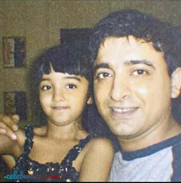 Nikita Bhamidipati with her father