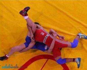 Ritika Phogat in wrestling