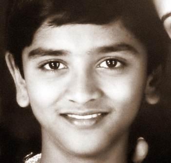 Shamanth Gowda childhood pic