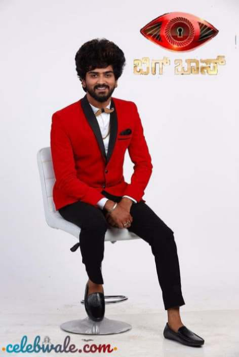 Shamanth Gowda in colors kannada tv show Bigg Boss Kannada 8