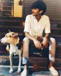 Vishwanath Haveri dog lover