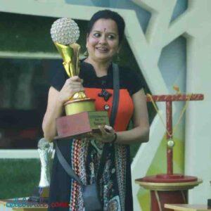 chandrakala mohan with award