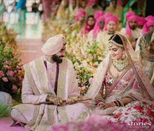 sanjana ganesan married to jasprit bumrah