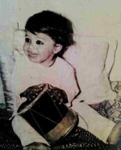 Amit Mistry childhood photo