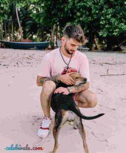 Kevin Almasifar dog lover