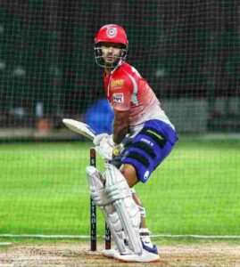 Mayank Agarwal right hand bat